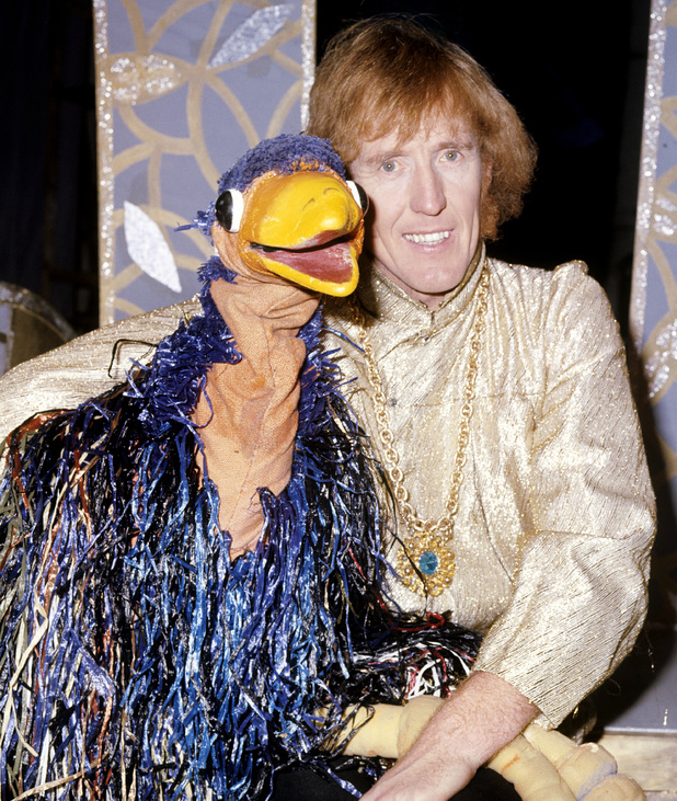 Rod Hull and his partner Emu