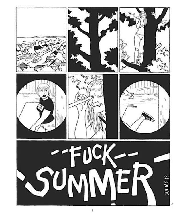 'F**k Summer' page 1 preview