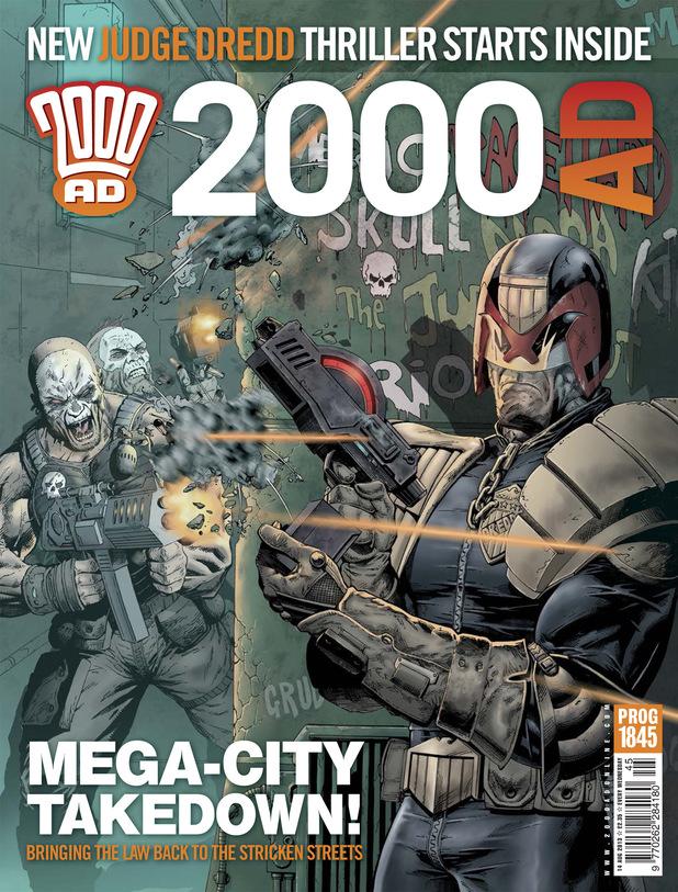 '2000 AD' Prog 1845 cover
