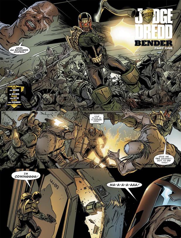 Judge Dredd 'Bender'