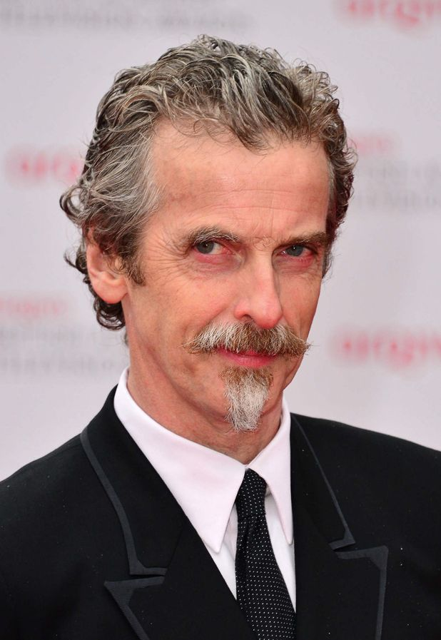 Peter Capaldi at the Arqiva British Academy Television Awards