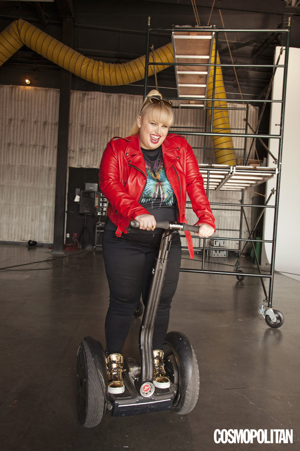 Rebel Wilson in Cosmopolitan