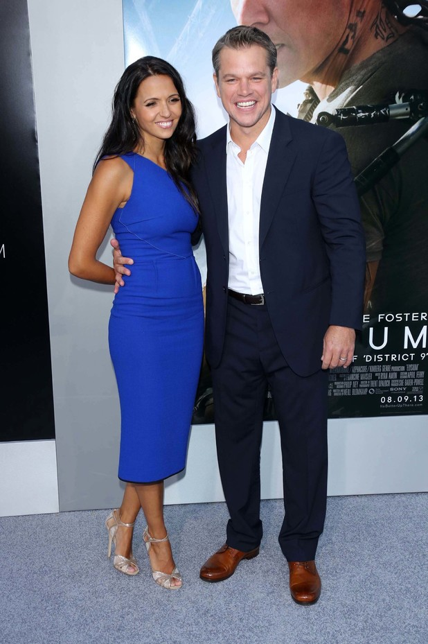 matt damon and luciana barroso meet
