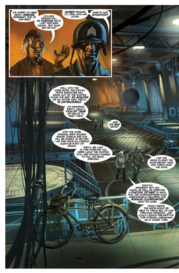 'Chronos Commandos' #2 page 4 preview