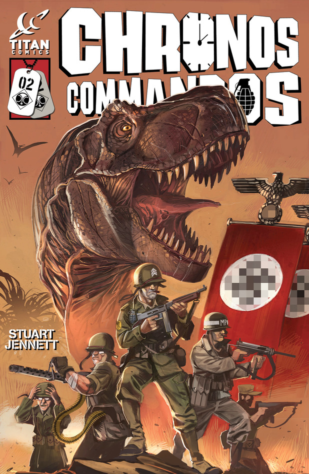 'Chronos Commandos' #2 cover