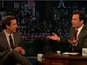 Jimmy Fallon interviews Meyers - watch