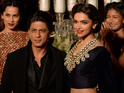 Khan and Padukone speak to Digital Spy about working together.