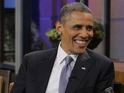 Barack Obama interviewed by Jay Leno
