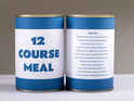 Chris Godfrey condenses 12 separate dishes into one canned meal.