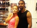 Boxer Haye posts an Instagram video of the singer in training.