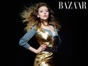 Dakota Fanning and Lily Collins among other famous women modeling for Harper's Bazaar.