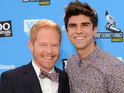 The Modern Family actor discusses his recent marriage to Justin Mikita.
