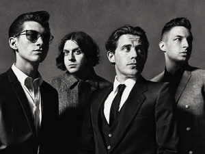 Arctic Monkeys and frontman Alex Turner