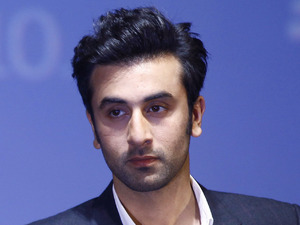 Ranbir Kapoor at the Mumbai launch for the new Blackberry Z10 smartphone, February 2013