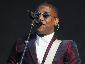 Labrinth performs on the 4 Music Stage during day two of the V Festival at Weston Park
