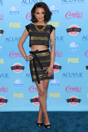 Cher Lloyd, 2013 Teen Choice Awards Arrivals held at the Gibson Amphitheatre