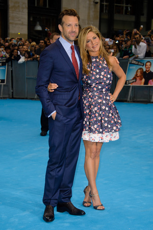 Jason Sudeikis, Jennifer Aniston, We're The Millers, Leicester Square