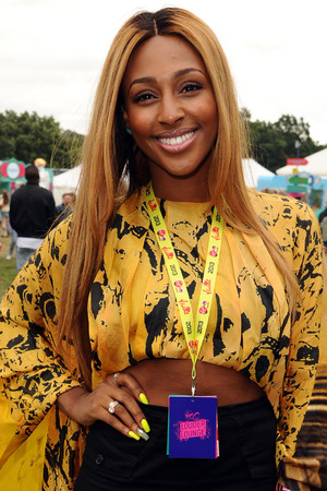 Alexandra Burke in the Virgin Media Louder Lounge