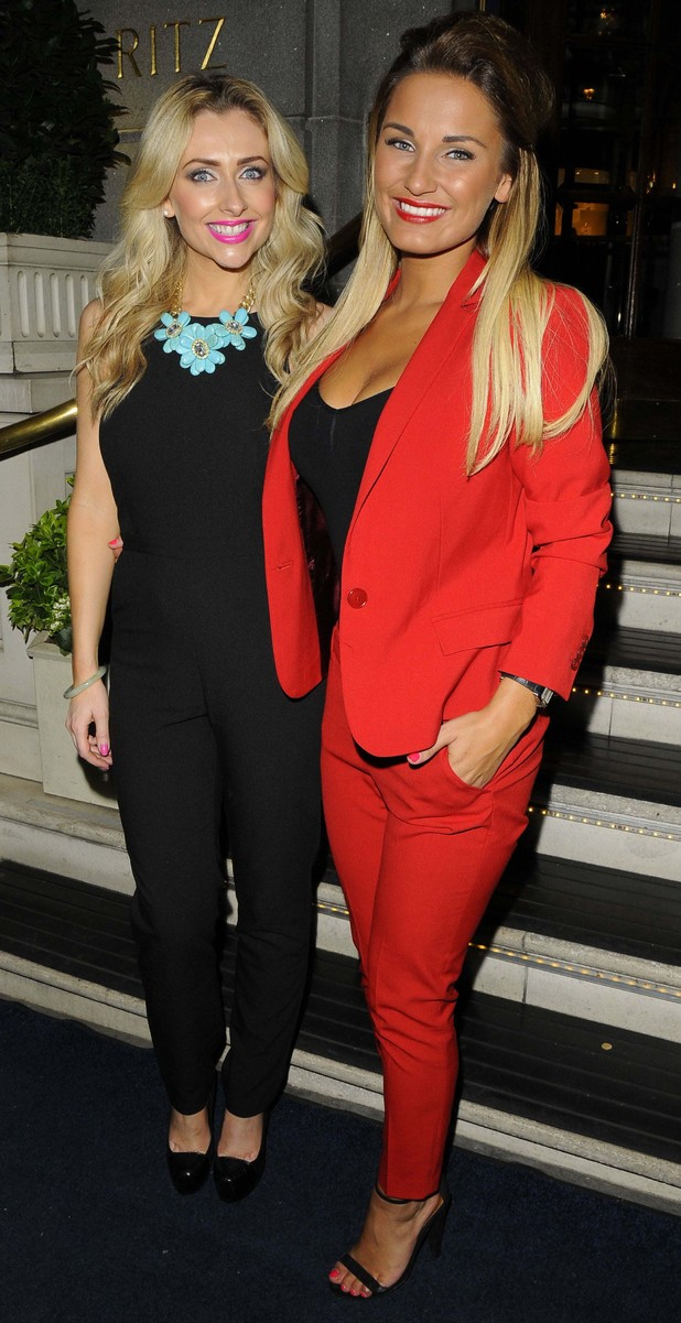 Gemma Merna and Sam Faiers
