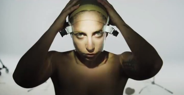 Lady Gaga in 'ARTPOP' promo video