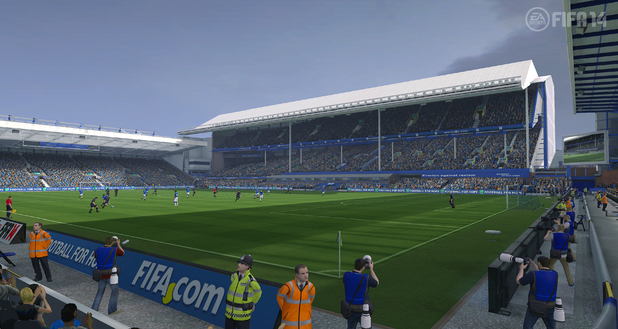 Goodison Park makes its game debut in 'FIFA 14'