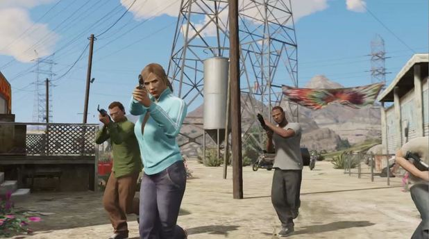 Grand Theft Auto Online trailer still