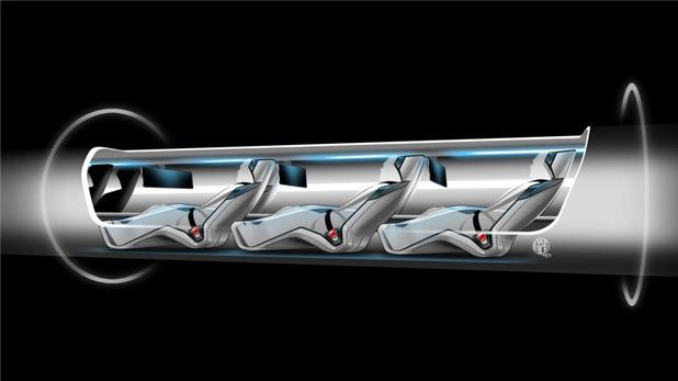 Hyperloop Alpha conceptual design art