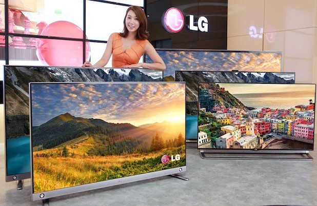 LG's 55 and 65-inch 4k TVs