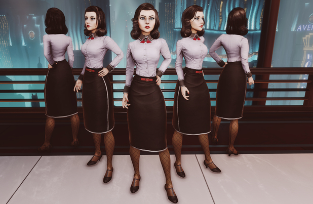 BioShock Infinite Elizabeth's Rapture costume