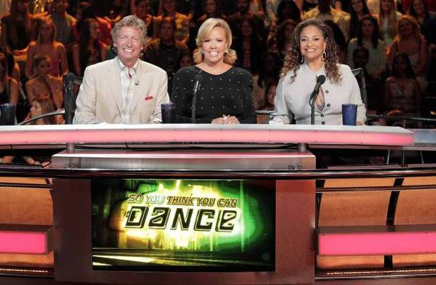 Nigel Lythgoe, Mary Murphy and guest Debbie Allen