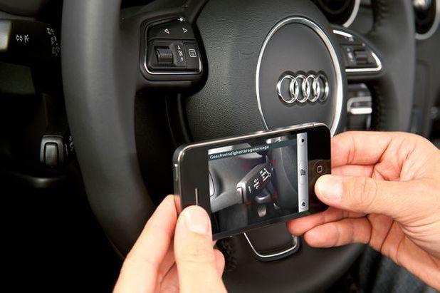 The eKurzinfo iOS app for Audi A3 vehicles