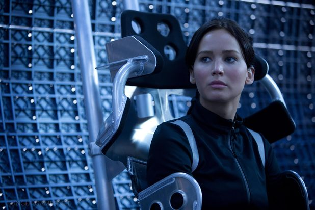 Jennifer Lawrence Katniss Everdeen hovercraft