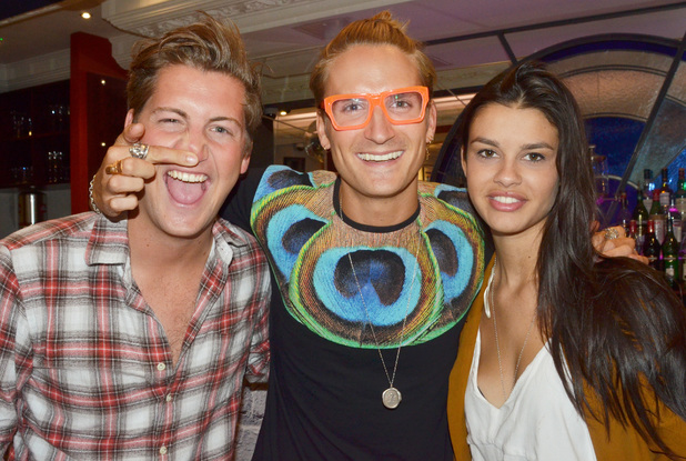 Stevie Johnson, Oliver Proudlock, Grace McGovern