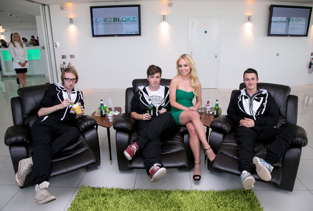 Jorgie Porter for Pot Noodle at Chez Bloke