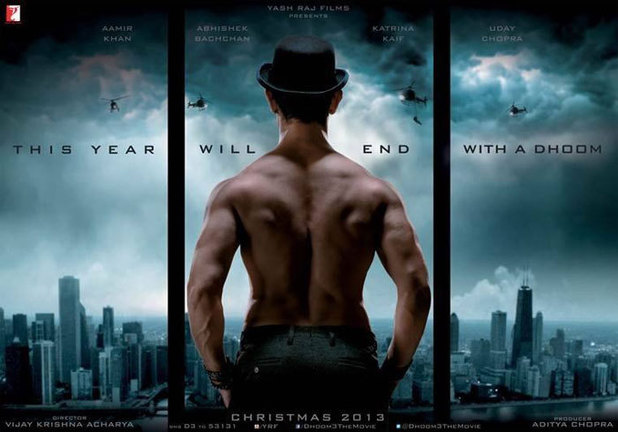 Aamir Khan in 'Dhoom 3' poster