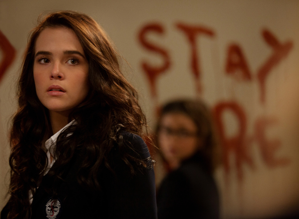 Zooey Deutch in Vampire Academy: Blood Sisters