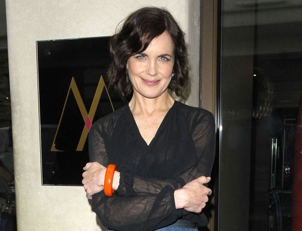 Elizabeth McGovern at show launch in London