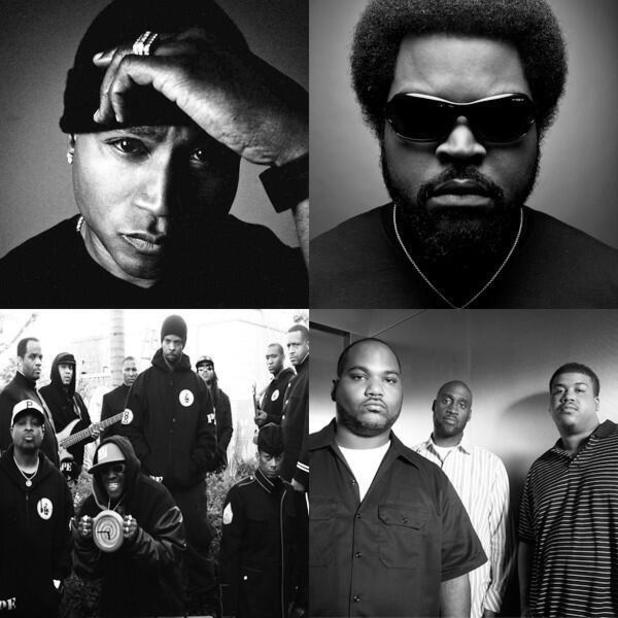 Kings of the Mic: LL Cool J, Ice Cube, Public Enemy, De La Soul