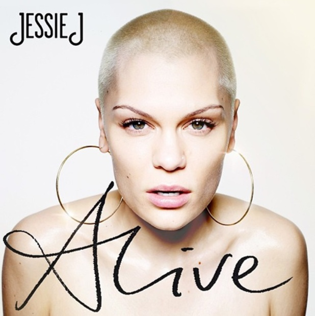 The cover for Jessie J's second album Alive