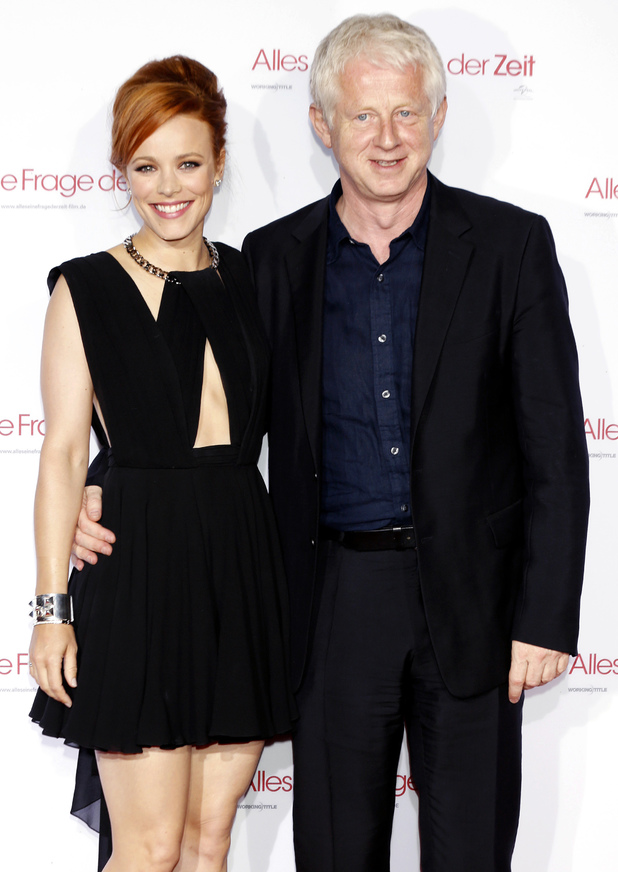 Rachel McAdams, Richard Curtis at the About Time' Munich premiere held at Kino am Olympiasee