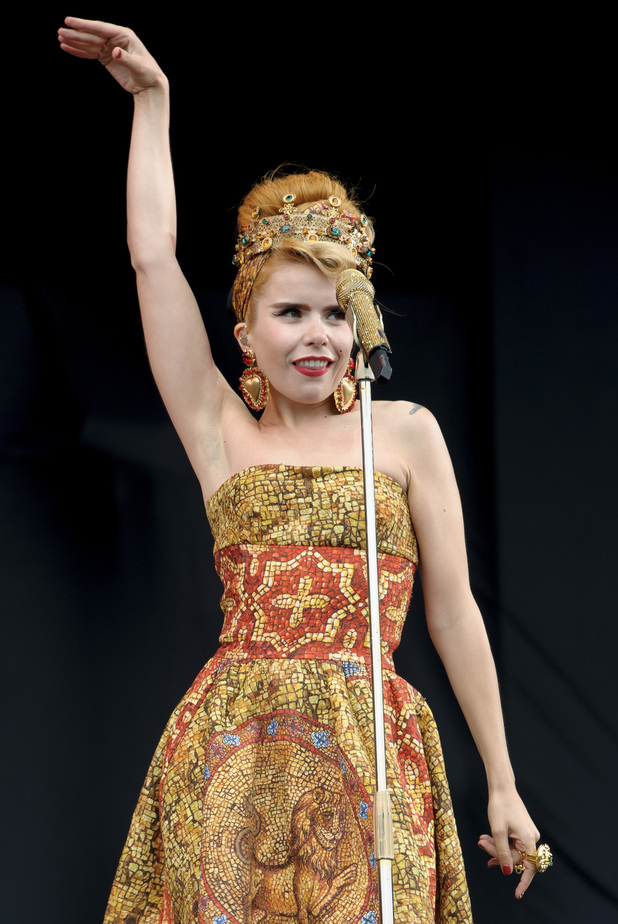 Paloma Faith performs at in Chelmsford.