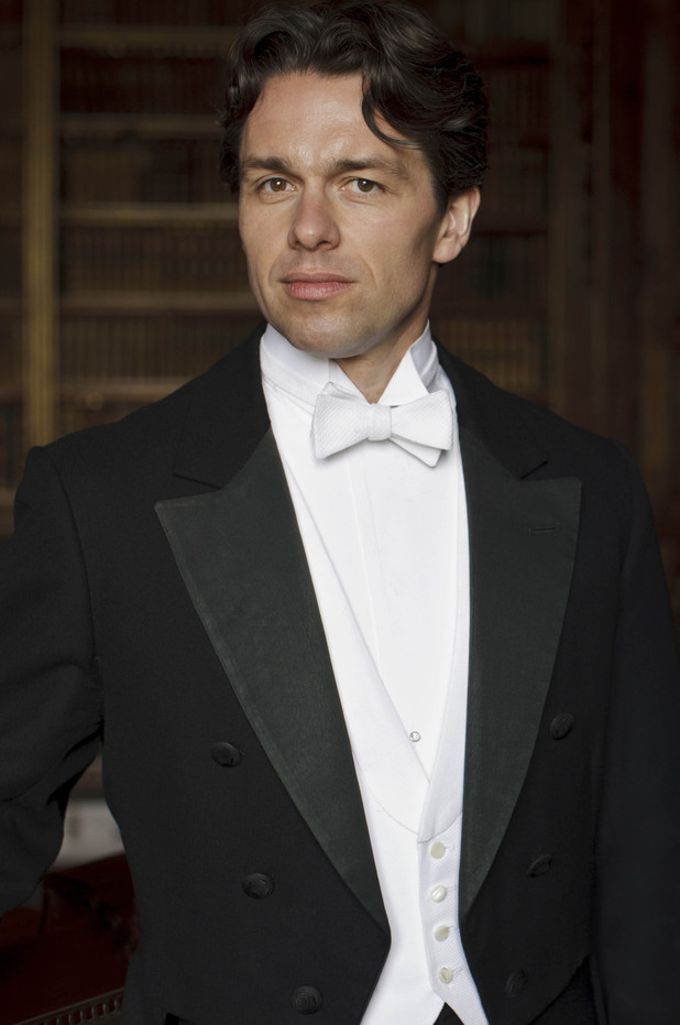 Julian Ovenden as Charles Blake in 'Downton Abbey'