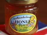 A jar of Northumberland honey