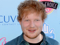 Sheeran jokes that he wants to date a woman who gives him chocolate.