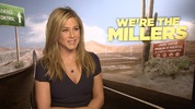 The cast of 'We're The Millers' discuss pranking Jennifer Aniston with The Rembrandts's Friends theme on the set of the new comedy.