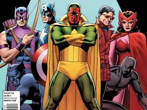 John Cassaday 'Avengers' #19 variant cover