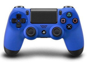 Blue PlayStation 4 Dualshock controller
