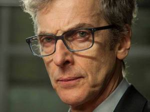 Peter Capaldi as Alan Rusbridger in the 'The Fifth Estate'