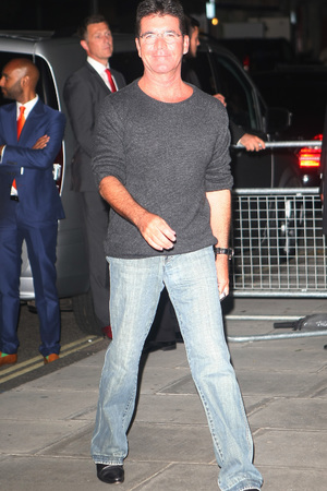 Celebrities at the Sanderson Hotel for One Direction's After Party Simon Cowell
