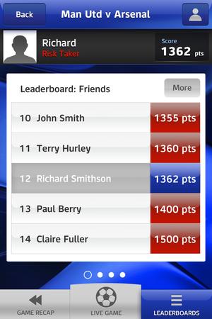 'Sky Sports Pub Challenge' screenshot